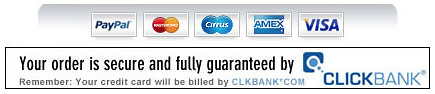 Processed and secured by Clickbank